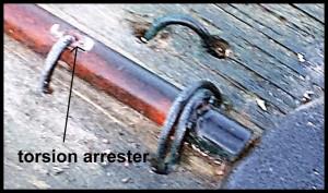 torsion arrester